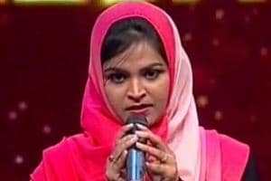 Muslim woman trolled online for singing Hindu devotional song on reality show
