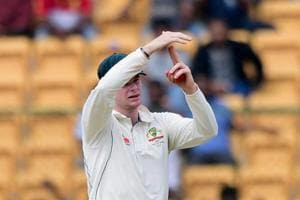 Australia captain Steve Smith was involved in a DRSrow with India captain Virat Kohli during the second Test in Bangalore.