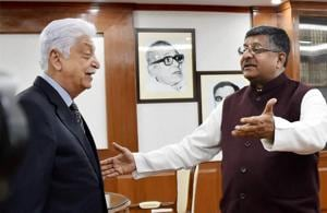 Wipro's Premji meets IT Minister over H-1B visa concerns