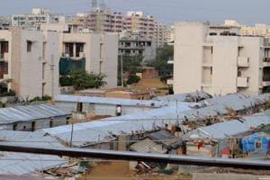 Gurgaon Sector 57 residents to protest against illegal shanties