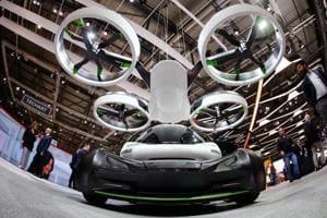 Geneva Motor Show: Airbus Pop.Up aka Vahana - the first flying...