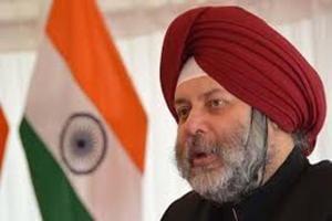 Manjeev Singh Puri is India's envoy to Nepal