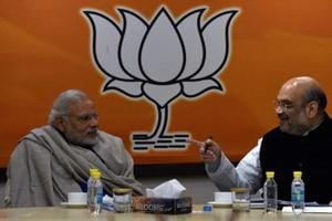 Exit polls in UP, Uttarakhand give Modi, Amit Shah reasons to smile