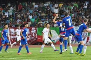 Mohun Bagan were held to a goalless draw by Bengaluru FCin their I-League encounter.
