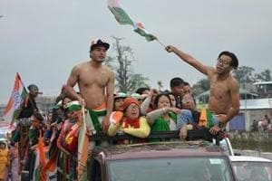Manipur results: Cong likely to be ousted, BJPholds aces despite split verdict