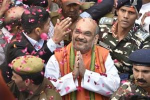 BJP's man of the moment Amit Shah says Diwali has come with Holi for his party