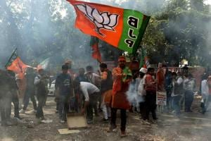 The BJP swept to power in Uttar Pradesh with a two-thirds majority on Saturday and the largest vote share of any party in the state since 1957. While the Samajwadi Party-Congress alliance fared poorly, the biggest loser was the Bahujan Samaj Party.