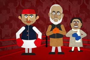 The seven-round political slugfest in Uttar Pradesh saw the BJP score a knockout, much like its stellar showing in UP in the 2014 general elections, when it won a landslide 71 of 80 Lok Sabha seats.