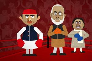 How Modi pummelled Akhilesh-Rahul and Mayawati to sweep UP round after round