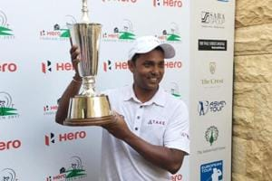 SSP Chawrasia claimed the Indian Open trophy to win his fourth European Tour title.