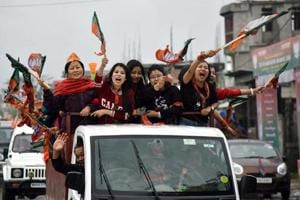 Assembly elections: BJP 'gets' the numbers, stakes claim to form govt in Manipur