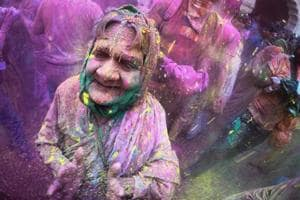 Celebrating spring with the festival of colours