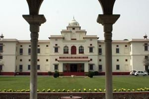 New Moti Bagh Palace in Patiala