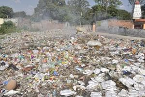 Ever since Pinjore was transferred to the municipal corporation, the residents have been expecting a cleanup of the area but to no avail. And there is hardly any deployment of sanitation staff.