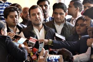 Rahul accuses BJP of stealing mandate in Goa, Manipur, says Cong to be...