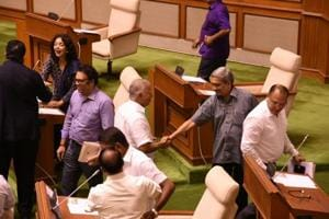 Goa floor test highlights: BJP govt led by Parrikar wins with support of 22 MLAs, Congress' Rane resigns