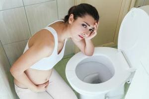 Morning sickness is a symptom of pregnancy that involves nausea or vomiting.