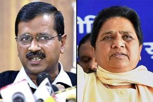 After election outcome, Kejriwal and Mayawati step up offensive, say EVMs rigged