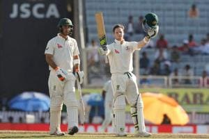 Steve Smith reaches 5000 runs, notches up 19th century in Ranchi Test