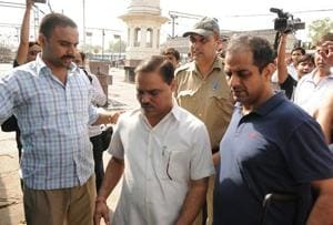 Former Delhi law minister Jitender Singh Tomar was arrested on the charges of forging degrees to obtain a lawyer's licence from the bar council. He is currently out on bail.