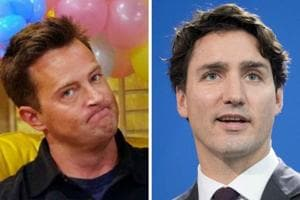 When Friends star Matthew Perry beat up Canadian PM Justin Trudeau