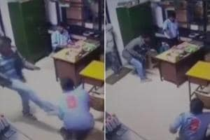 In a shocking incident, a petrol pump employee sustained a bullet...