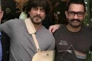 We don't talk work, we haven't spoken work for years: Shah Rukh Khan on meeting Aamir