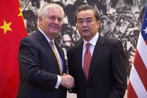Rex Tillerson meets Chinese FM Wang Yi amid North Korea tension