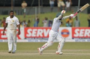 Bangladesh create history in 100th Test, beat Sri Lanka by four wickets