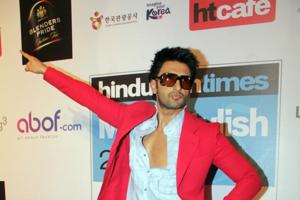 Ranveer Singh's flamboyant personality complemented his red carpet look at HT Most Stylish Awards, last year.