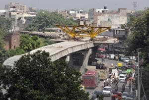 Rani Jhansi Grade Separator has been the works for past nine years. It is expected to figure in the budget yet again.
