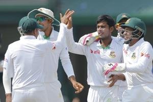 Mushfiqur Rahim says Bangladesh soaked up pressure well in victory in 100th Test
