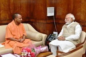 Yogi Adityanath meets PM Modi in Delhi amid talks of UP portfolio distribution