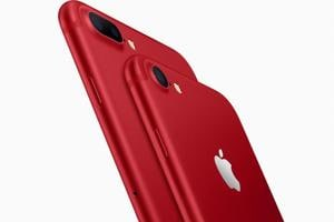 iPhone goes red: Apple launches limited edition 7 and 7 Plus model in...