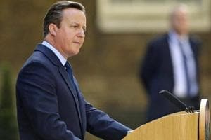 Former British PMCameron jokes he doesn't have to hear Trump wiretaps...