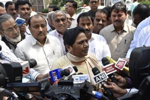 In Rajya Sabha, Mayawati dares BJP to hold assembly elections using...