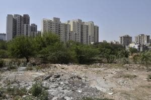 Once lush and green, Gurgaon Sector 47 pond has now been filled up
