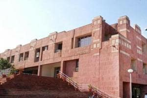 The admission process to MPhil and PhD programmes in New Delhi's Jawaharlal Nehru University began on Tuesday.