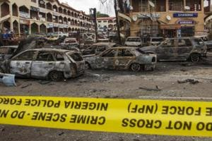 Multiple bomb blasts rock migrant camp in Nigeria