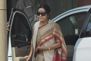 Swaraj tells envoy to rescue 29 Indian workers from 'captivity' in...