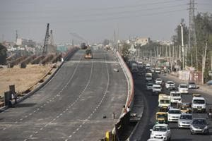 One carriageway of Hero Honda flyover to open on Saturday