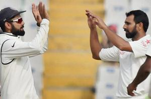 Mohammed Shami to play for Virat Kohli-led India in the 4th Test vs...