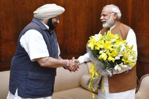 Farm debt: Punjab CM Captain Amarinder Singh calls on PM Modi, presses...