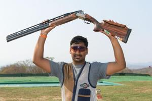 Ankur Mittal clinches double trap gold at ISSF World Cup