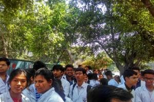 Medical careers at risk, MBBS students protest outside health...