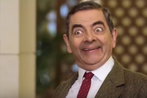 Mr Bean returns! Rowan Atkinson reprises his most iconic role in rare...