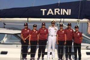 Indian Navy's all-women team to sail across globe