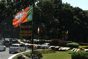 BJP flag hoisted in Bihar school to celebrate UP poll victory; probe...