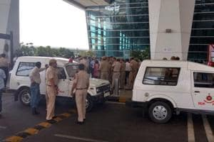 Tight security at Delhi airport, IndiGo cancels Shiv Sena MP Gaikwad's...