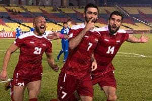 In Malaysia, Syria's FIFA World Cup dream gets a new lease of life